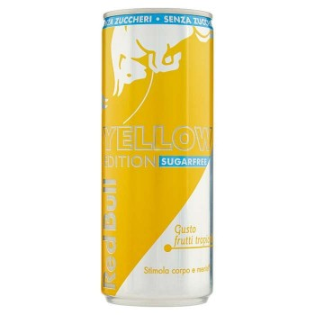Red Bull Sugarfree Yellow...