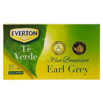 Everton Tè Verde Earl Grey...