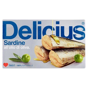 Delicius Sardine All'olio...