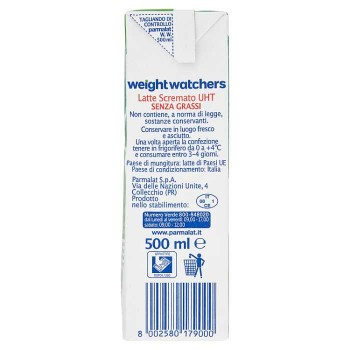 Parmalat Weight Watchers...