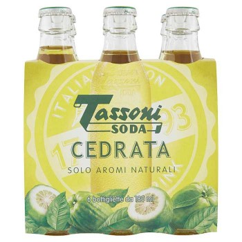 Tassoni Soda Cedrata 6 X 18 Cl