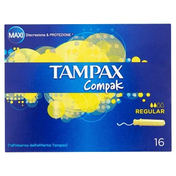 Tampax Compak Regular 16...