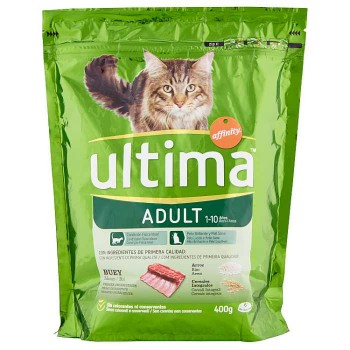 Ultima Cat Adult Manzo 400 G