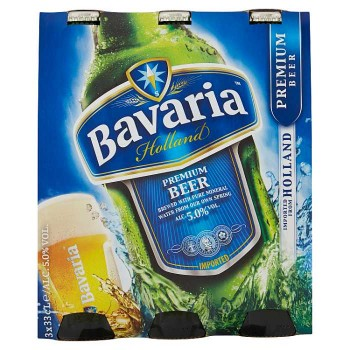 Bavaria Premium Beer 3 X 33 Cl