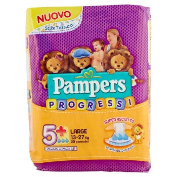 Pampers Progressi Large X20