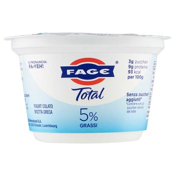 Fage Total 5% Grassi 170 G
