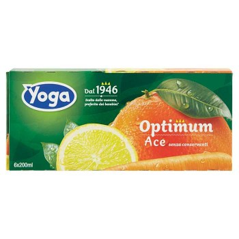 Yoga Optimum Ace 6 X 200 Ml