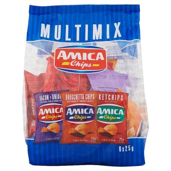 Amica Chips Multimix 6 X 25 G