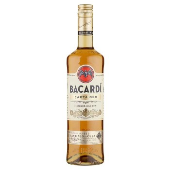 Bacardi Carta Oro 700 Ml