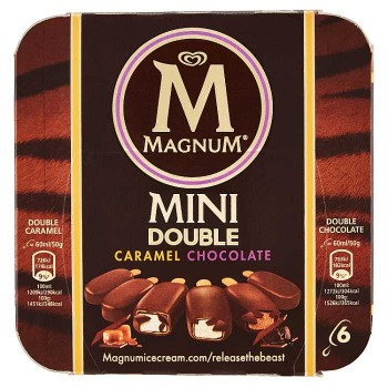 Magnum Mini Double Caramel...