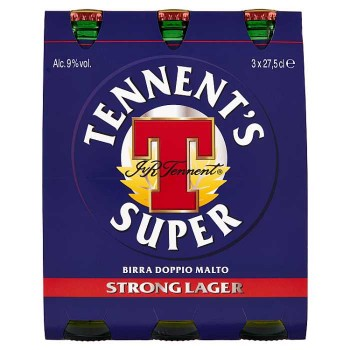 Tennent's Super 3 X 27,5 Cl