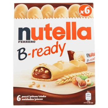Nutella B-ready 6 X 22 G