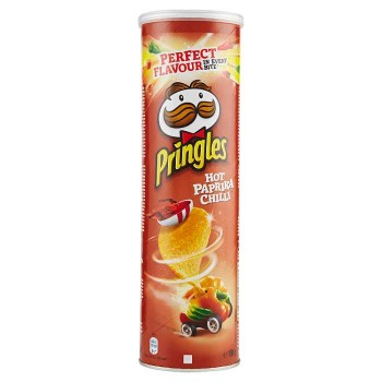 Pringles Hot Paprika Chilli...