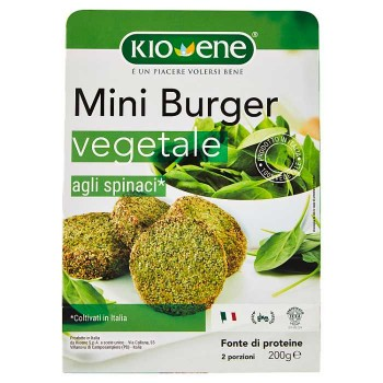 Kioene Mini Burger Vegetale...