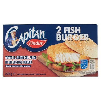 Capitan Findus Fish Burger...