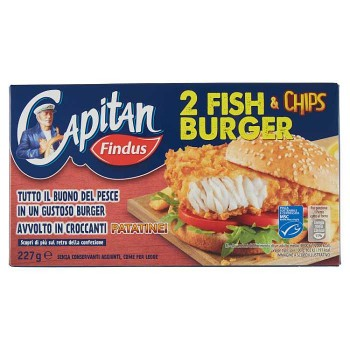 Capitan Findus Fish Chips...