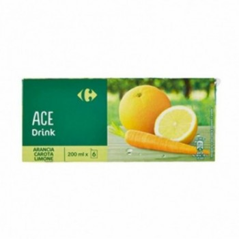 Succo Ace Carrefour 3x200ml