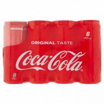 Coca-cola Lattina Da 330ml...
