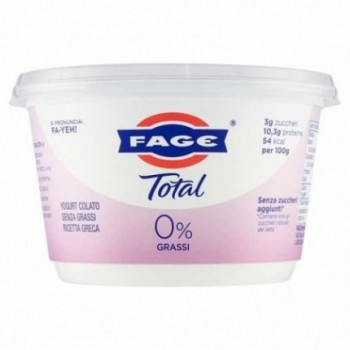 Fage Total 0% Grassi 500 G